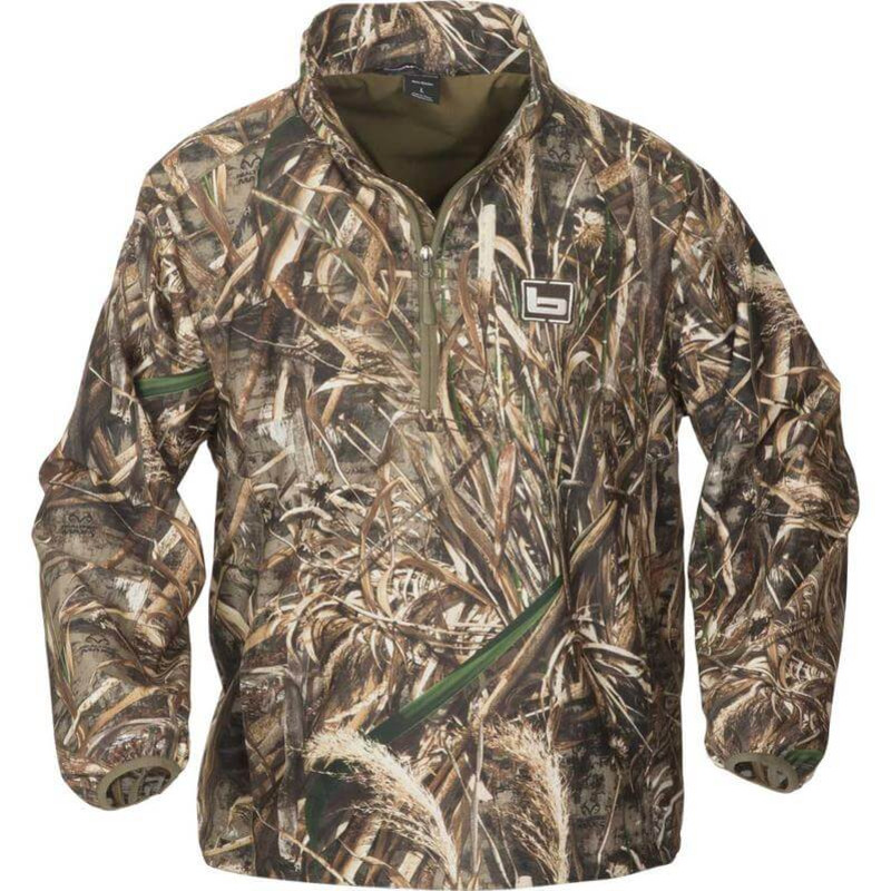 Banded Windproof Pullover in Realtree Max 5 Color