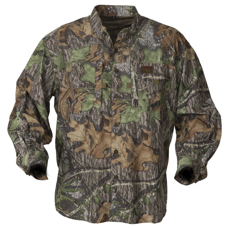 Banded Lightweight Long Sleeve Hunting Shirt in Mossy Oak Obsession Color