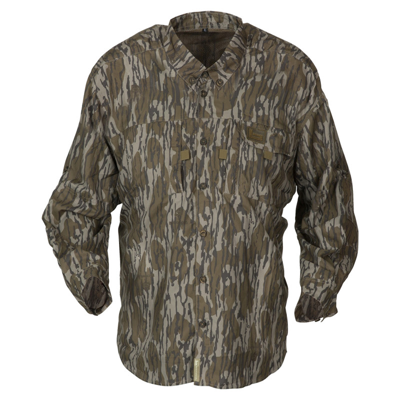 Banded Lightweight Long Sleeve Hunting Shirt in Mossy Oak Original Bottomland