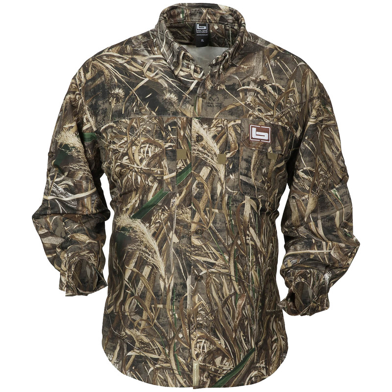 Banded Lightweight Long Sleeve Hunting Shirt in Realtree Max 5 Color