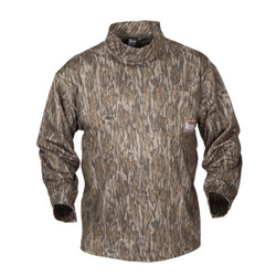 Banded Tec Fleece Mock Neck Shirt