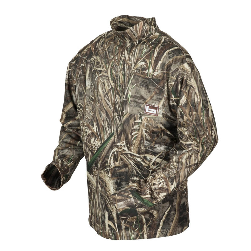 Banded Tec Fleece Mock Neck Shirt in Realtree Max 5 Color