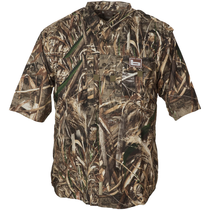 Banded Lightweight Short Sleeve Hunting Shirt in Realtree Max 5 Color