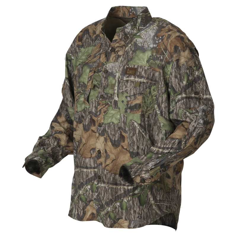 Banded Midweight Long Sleeve Hunting Shirt in Mossy Oak Obsession Color
