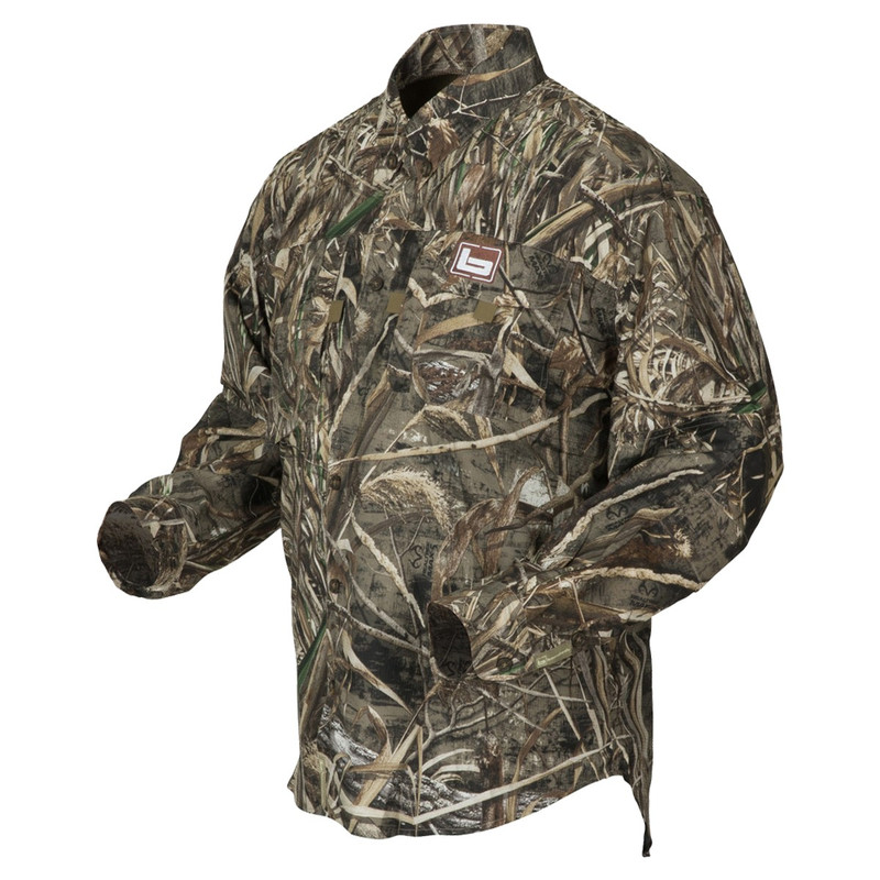 Banded Midweight Long Sleeve Hunting Shirt in Realtree Max 5 Color