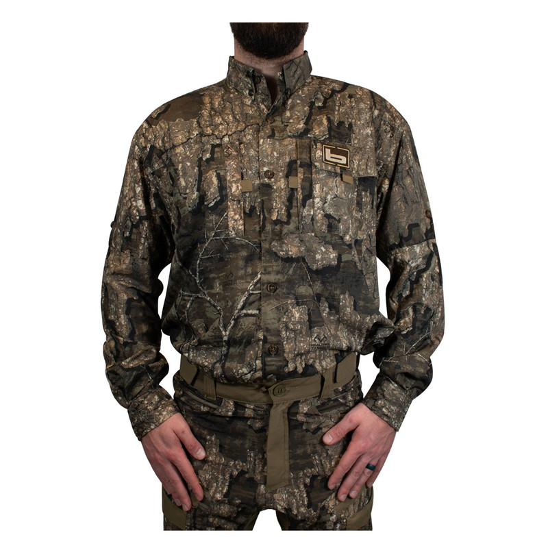 Banded Midweight Long Sleeve Hunting Shirt in Realtree Timber Color