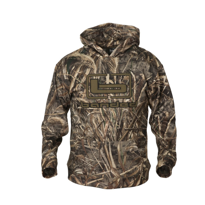 Banded Logo Hoodie in Realtree Max 5 Color