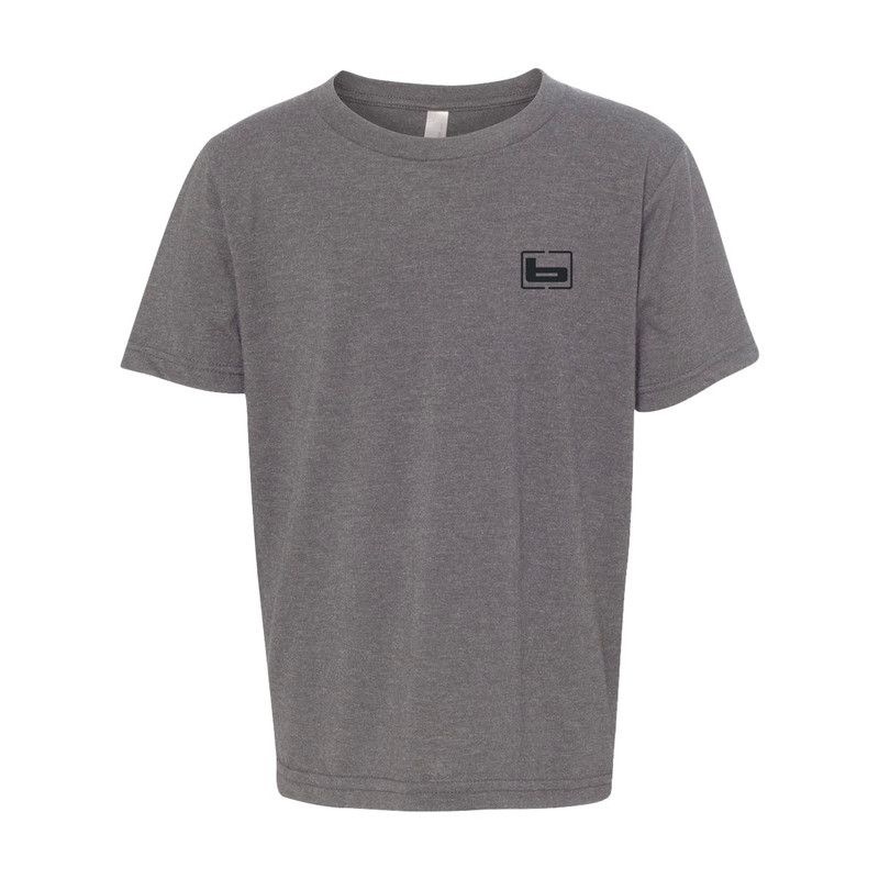 Banded Youth Short Sleeve Olympic Bands 2020 Shirt - Limited Edition in Dark Heather Grey Color