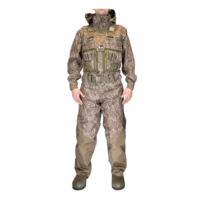 Banded RedZone Elite 2.0 Breathable Wader - Insulated in Mossy Oak Bottomland Color