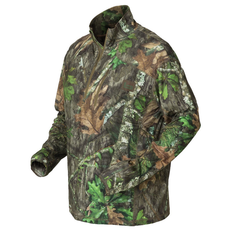 Banded Tec Stalker Quarter Zip Pullover in Mossy Oak Obsession Color