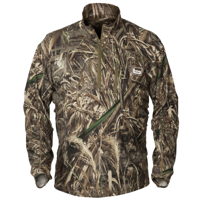 Banded Tec Stalker Quarter Zip Pullover in Realtree Max 5 Color