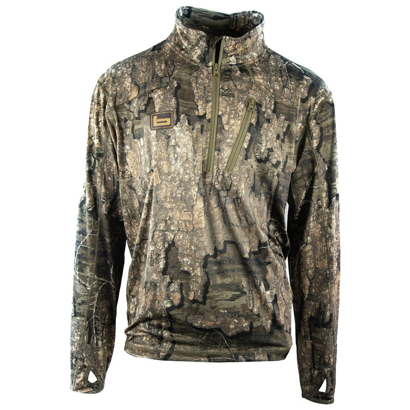 Banded Tec Stalker Quarter Zip Pullover in Realtree Timber Color