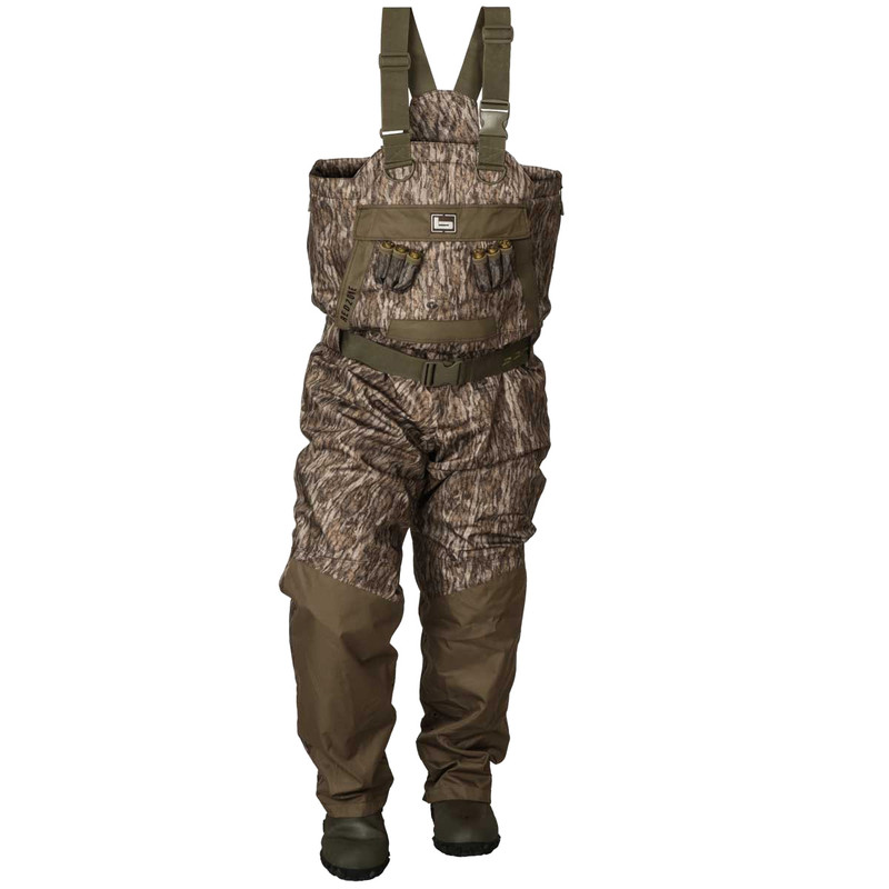 Banded RedZone 2.0 Breathable Uninsulated Chest Waders in Mossy Oak Bottomland Color