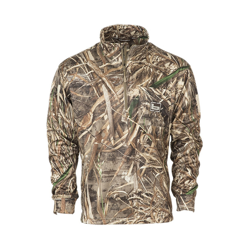 Banded Tec Fleece 1/4 Zip Pullover in Realtree Max 5 Color