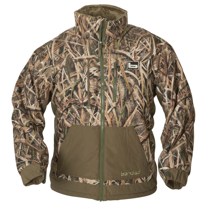 Banded Chesapeake Full Zip in Mossy Oak Shadow Grass Blades Color