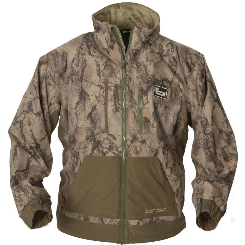 Banded Chesapeake Full Zip in Natural Gear Color