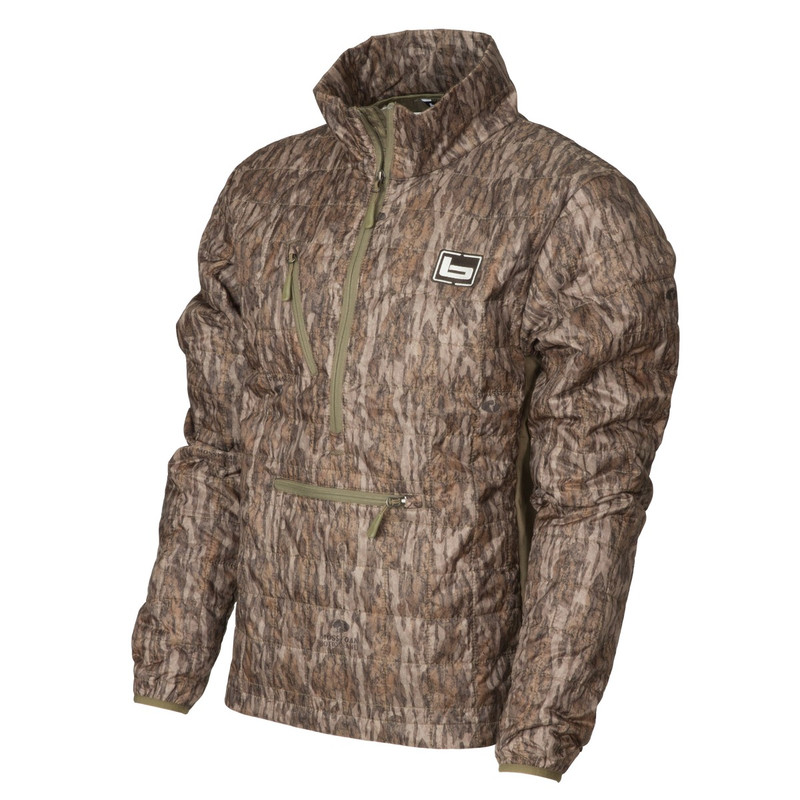 Banded Northwind Nano Primaloft Pullover in Mossy Oak Bottomland Color