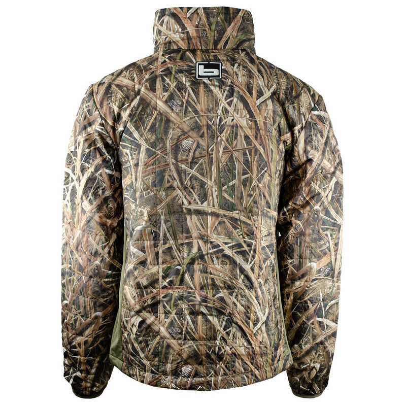 Banded Northwind Nano Primaloft Pullover in Mossy Oak Shadow Grass Blades Color
