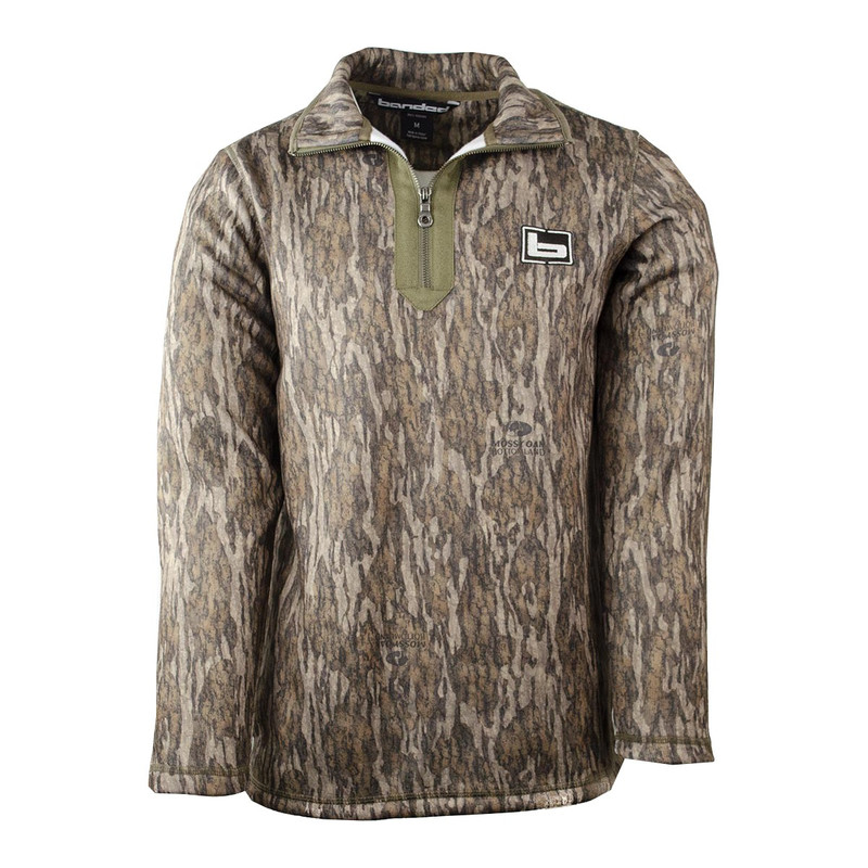 Banded Plumage Fleece Pullover in Mossy Oak Bottomland Color