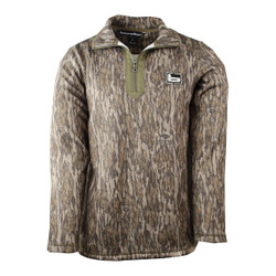 Banded Plumage Fleece Pullover