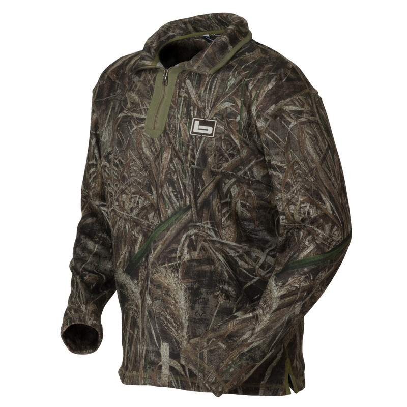 Banded Plumage Fleece Pullover in Realtree Max 5 Color
