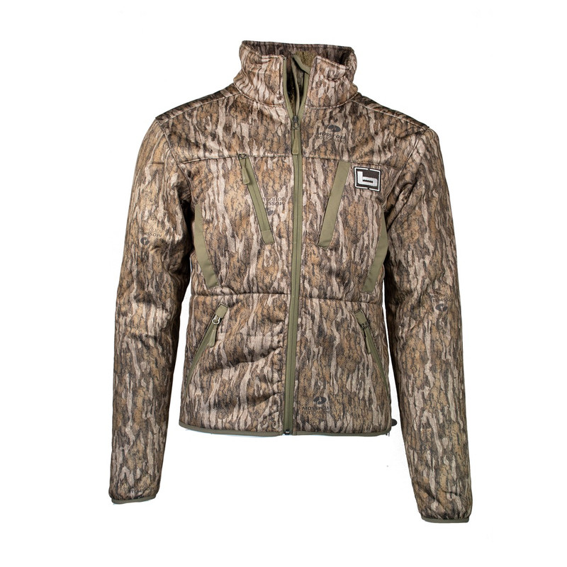 Banded Swift Soft Shell Jacket in Mossy Oak Bottomland Color