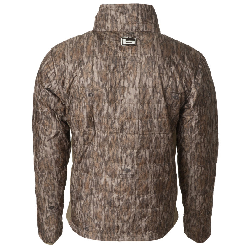 Banded Northwind Nano Full Zip in Mossy Oak Bottomland Color