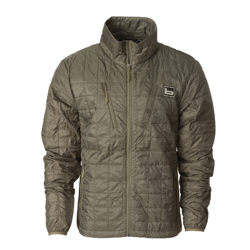 Banded Northwind Nano Full Zip in Spanish Moss Color