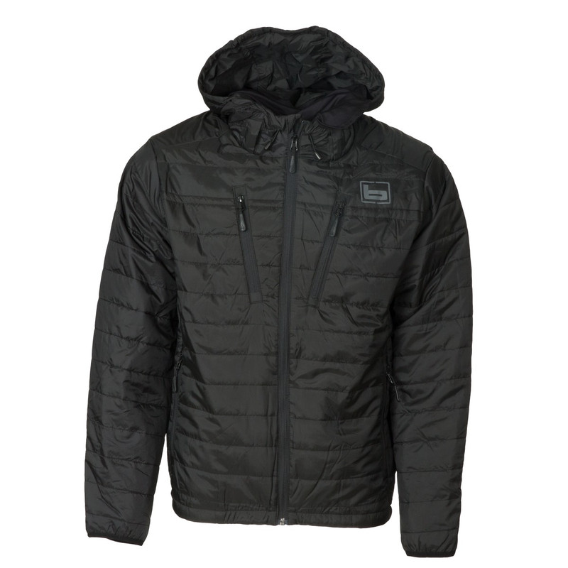 Banded Linedrive 2.0 Insulated Puff Jacket in Black Color
