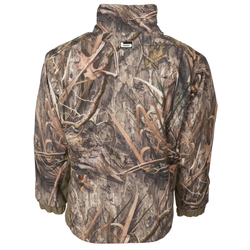 Banded Stretchapeake Insulated Jacket/Quarter Zip Pullover in Mossy Oak Blades Habitat Color