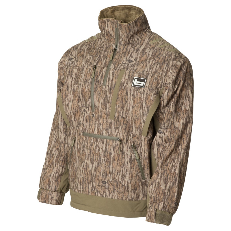 Banded Stretchapeake Insulated Jacket/Quarter Zip Pullover in Mossy Oak Bottomland Color