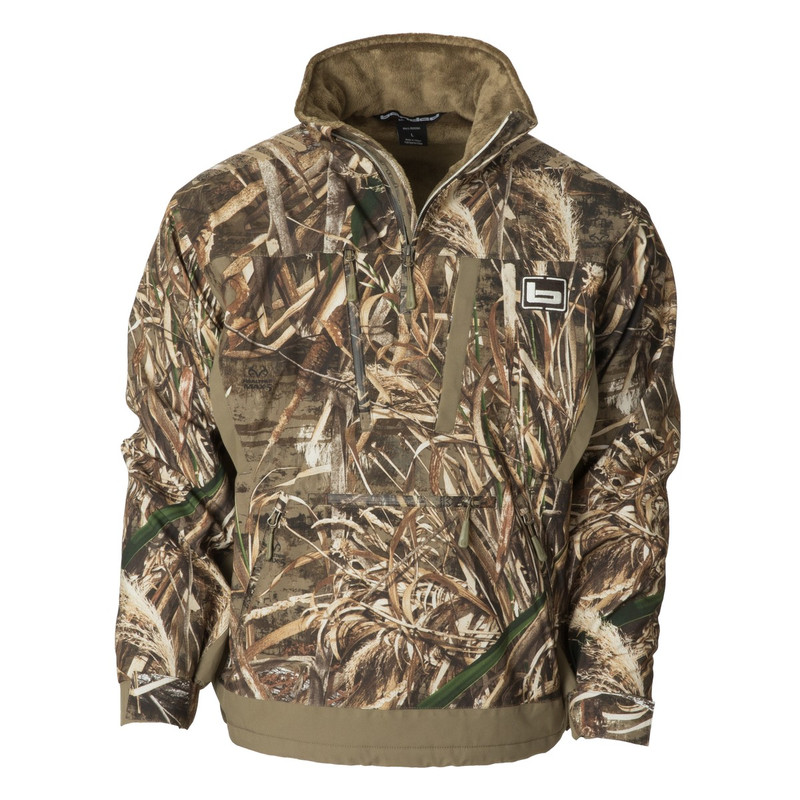 Banded Stretchapeake Insulated Jacket/Quarter Zip Pullover in Realtree Max 5 Color