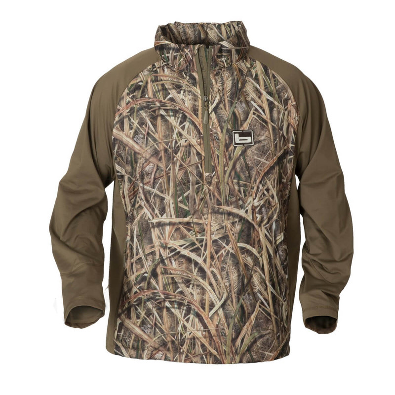 Banded Hailstone Quarter Zip Jacket in Mossy Oak Shadow Grass Blades Color