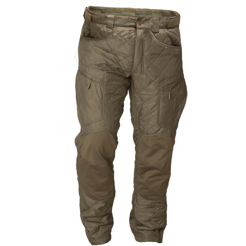 Banded Redzone Base Pant 25 gram Primaloft in Spanish Moss Color