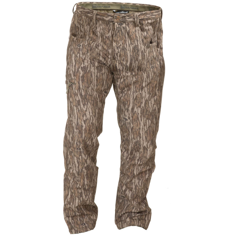 Banded Soft Shell Wader Pants in Mossy Oak Bottomland Color