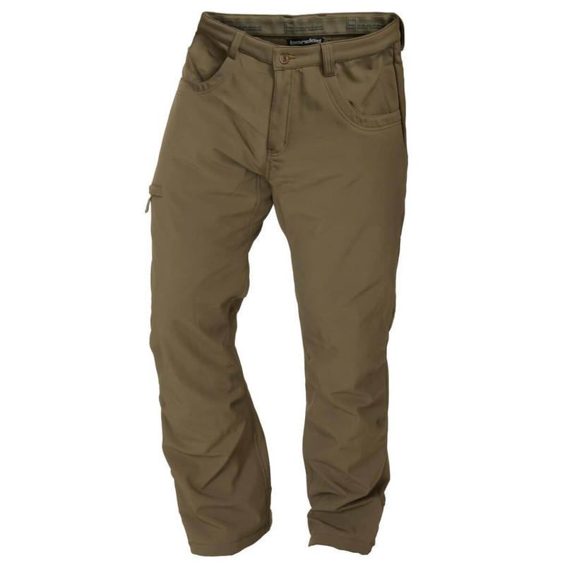 Banded Soft Shell Wader Pants in Spanish Moss Color
