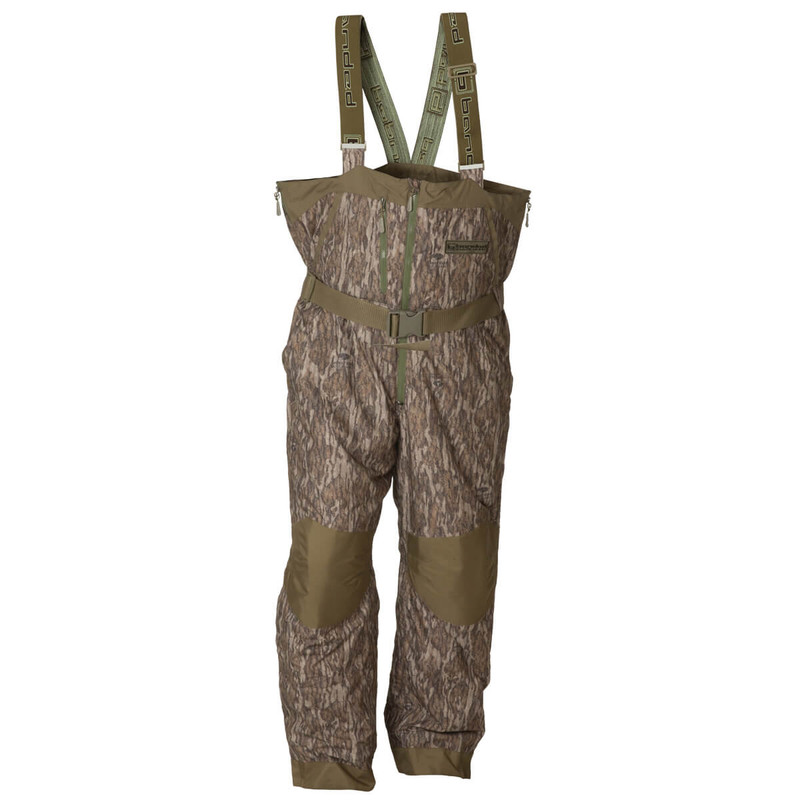 Banded Black Label Insulated Bib in Mossy Oak Bottomland Color