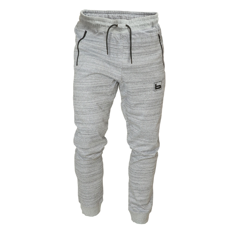 Banded The Athlete Fleece Wader Pant in Heather Grey Color