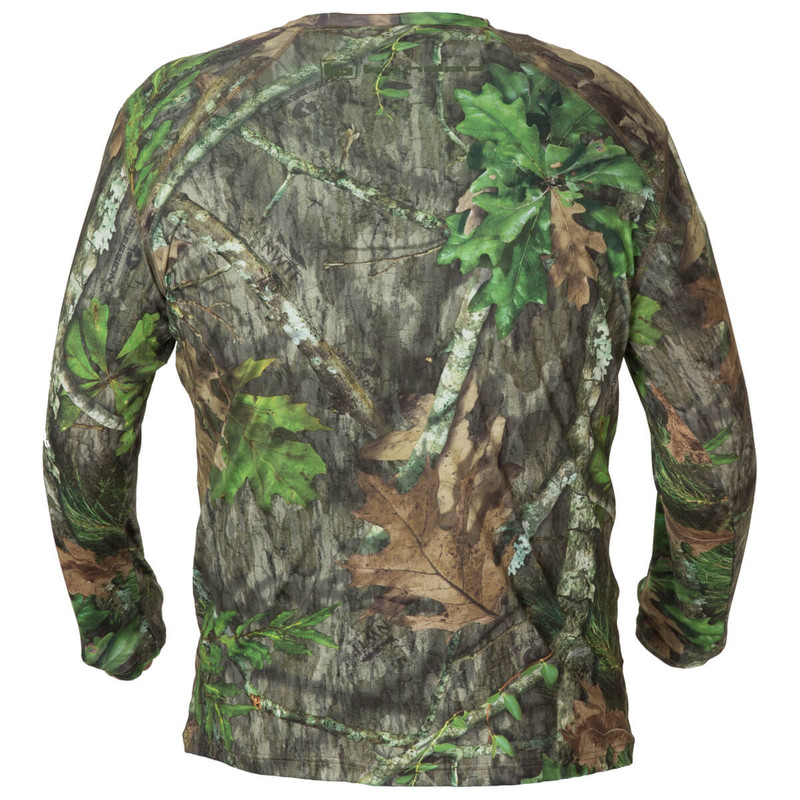 Banded Tech Stalker Mock Shirt in Mossy Oak Obsession Color