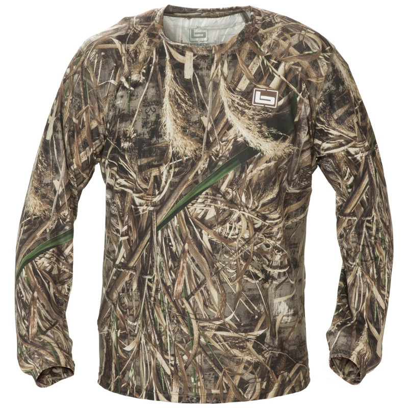 Banded Tech Stalker Mock Shirt in Realtree Max 5 Color