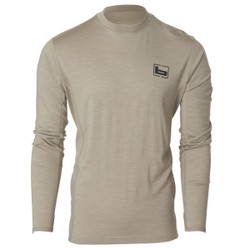 Banded Base Merino Wool Crew Long Sleeve Pullover - 180 Gram