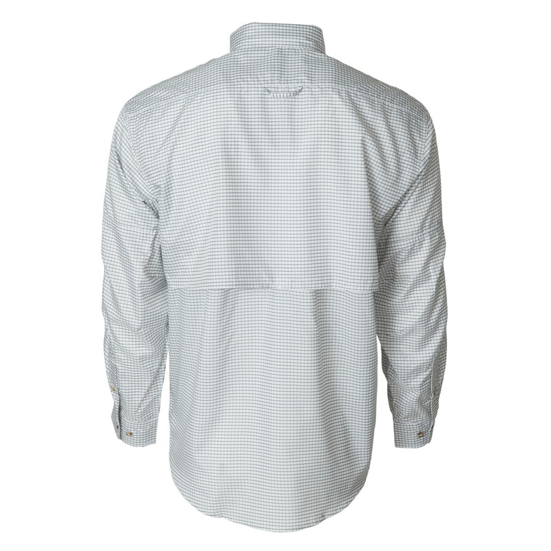 Banded Hook Performance Fishing Shirt in Grapgite Plaid