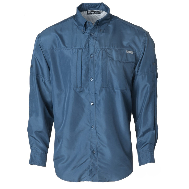 Banded Hook Performance Fishing Shirt in Midnight Color