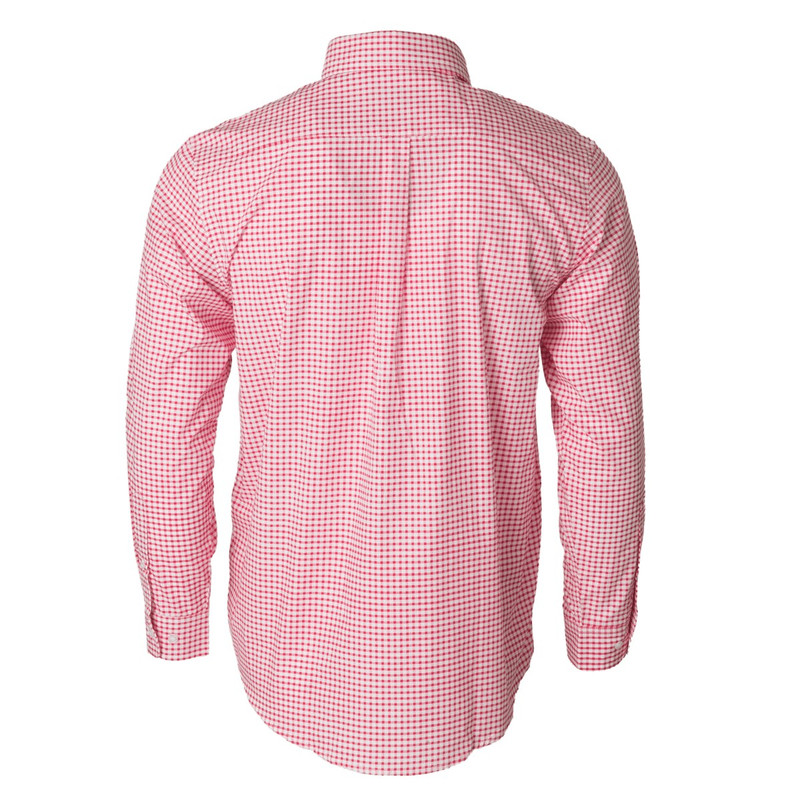 Banded The Curtis Dress Shirt in Cherry Red Color
