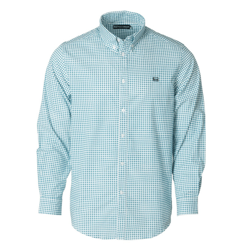 Banded The Curtis Dress Shirt in Dark Green Color