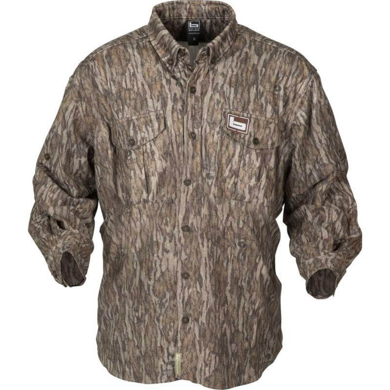 Banded Tec Fleece Jac Shirt in Mossy Oak Bottomland Color