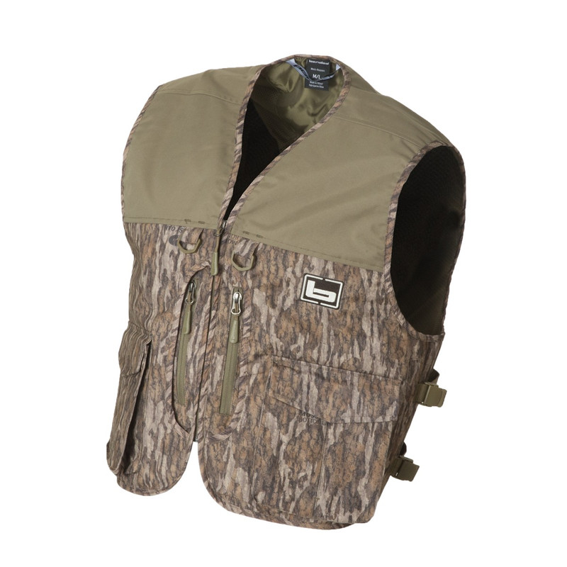 Banded Waterfowler's Hunting Vest in Mossy Oak Bottomland Color
