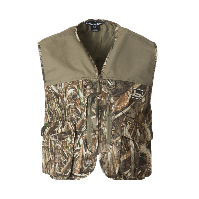 Banded Waterfowler's Hunting Vest in Realtree Max 5 Color
