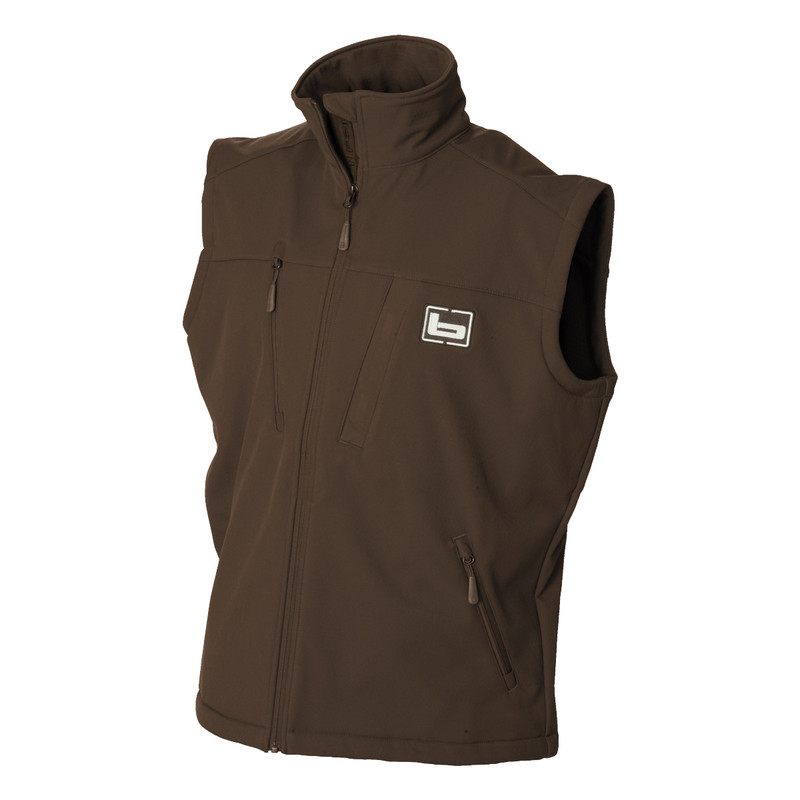 Banded Utility 2.0 Vest in Brown Color