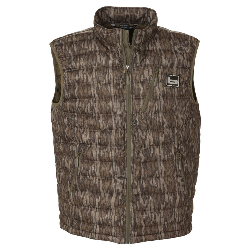 Banded Nano Ultra Light Down Vest in Mossy Oak Bottomland Color